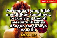 Amsal 14:1