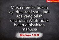 Matius 19:6