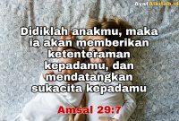 Amsal 29:7