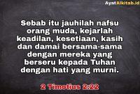 2 Timotius 2:22