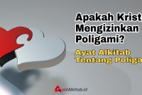 Ayat Alkitab Tentang Poligami