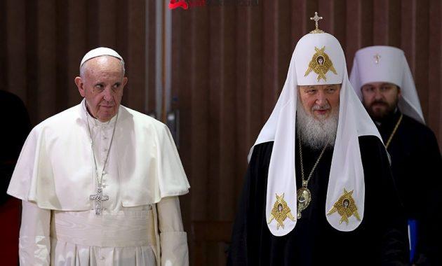Patriark dan paus fransiskus